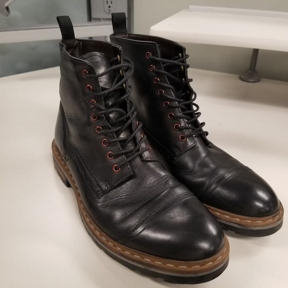 c8857a9c Men clarks boot black leather size 10